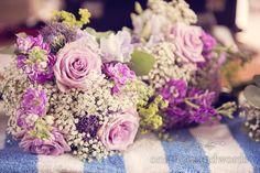 Soft Purple Wedding Flowers at Lulworth Castle Wedding. Photography by one thousand words wedding photographers