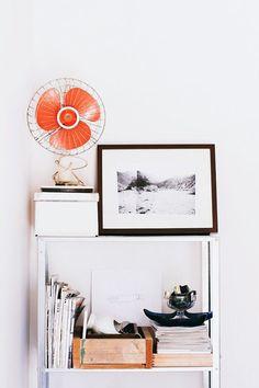 orange pop / dear iris for minted via sfgirlbybay Paz Interior, Interior And Exterior, Interior Design, Handmade Home, Home And Deco, Scandinavian Interior, My New Room, Retro, Decoration