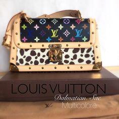 Selling this *RARE* Louis Vuitton Dalmatian Sac Multicolore on Poshmark! My username is: nikongirlrocks. #shopmycloset #poshmark #fashion #shopping #style #forsale #Louis Vuitton #Handbags