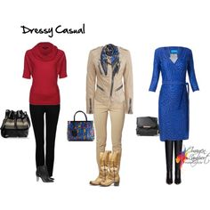 Dress code: 'Dressy Casual' by imogenl on Polyvore