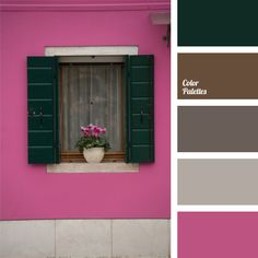 Color scheme blue purple green gold light pink and brown palette home improvement charming pur Cool Color Palette, Spring Color Palette, Spring Colors, Color Schemes Design, Brown Color Schemes, Couleur Fuchsia, Deco Paint, Purple Bedrooms, Living Room Color Schemes