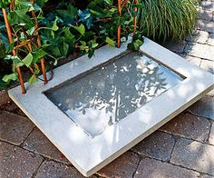 How to Build a Water Feature