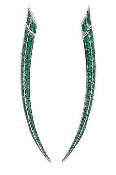 The Extras: Going Green: Shaun Leane for Gemfields earrings, Radiance, Las Vegas; 702-590-8725.