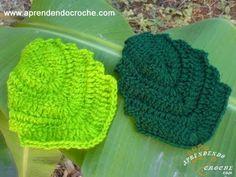 ▶ Motivo Folha de Outono em Croche - Aprendendo Crochê - YouTube