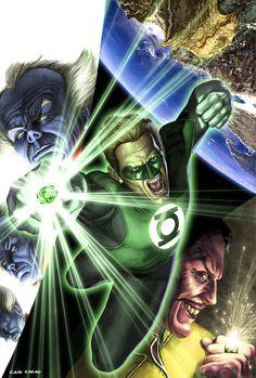 Green Lantern Sample Cover by caiocacau on DeviantArt