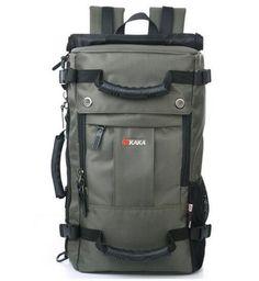 0b2c084292b01 Brand KAKA 40L MultiFunction Backpack Men Oxford Travel Backpack Travel bag  Rucksacks Shoulder Daypacks Bag Male