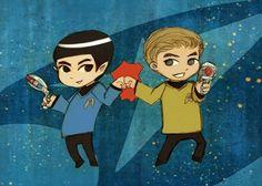 Star Trek babies bro power.