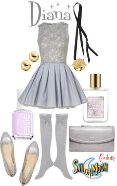 A fashion look from April 2013 featuring sexy dresses, stella mccartney shoes and coach bags. Browse and shop related looks. Casual Cosplay, Cosplay Outfits, Anime Outfits, Sailor Moon Outfit, Sailor Moon Cosplay, Geek Fashion, Fashion Looks, Sailor Moon Collectibles, Pretty Outfits