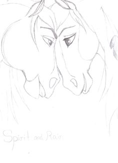 Spirit and Rain A Dibujar