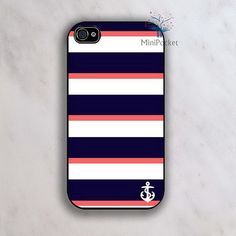 Anchor Personalized iPhone 4 Case iPhone 4s Case by MiniPocket2012, $8.99