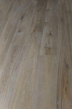 "Engineered Hardwood - European Long Length Collection - Oak / Grey Wash / 7 1/2"""