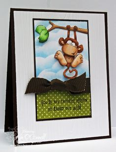 "There She Goes Clear Stamps ""Jungle Out There"" stamp set"