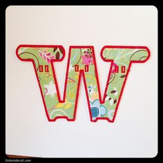 W - Embroidery It | Creative Embroidery Designs