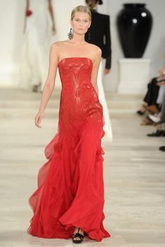 Ralph Lauren RTW Spring 2013 - Runway, Fashion Week, Reviews and Slideshows - WWD.com