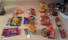3-day food supply for 72-hour kits - Adult