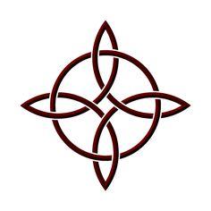 celtic compass rose/knot design