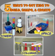 5 building techniques to try with your child during play time.