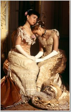 Justine Waddell and Mia Kirshner in Anne Karenina 1997