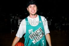 jeff ament | Jeff Ament of Pearl Jam during MTVs 3rd Annual Rock N Jock Basketball ...OMG he looks so cute!