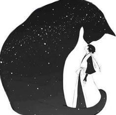 Neko, Samurai, The Sky, The Dark and The Stars
