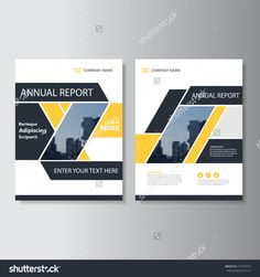 Yellow black Vector annual report Leaflet Brochure Flyer template design, book cover layout design, Abstract yellow black presentation templates Cover Design, My Design, Graphic Design, Magazine Design, Brochure Template, Flyer Template, Annual Report Covers, Annual Reports, Microsoft Word 2007