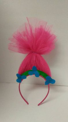 Check out this item in my Etsy shop https://www.etsy.com/listing/503960659/poppy-trolls-movie-tulle-headband