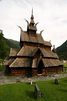 Borgund Stave Church in Borgund, Norway The church was built in the early 13th century and is the best preserved medieval stave church. A stave church is a wooden church made with a type of post and beam construction. Almost all surviving stave churches are in Norway. One survives in Sweden and one was moved to what is now Poland. A similar, Anglo-Saxon palisade church survives in England.