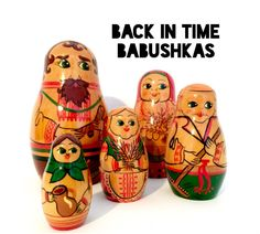 #Vintage USSR Russian #Nesting Doll Wheat Farmer Family Set of Five #Featuring Ma,  View more on the LINK: http://www.zeppy.io/product/gb/3/220295873/
