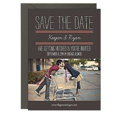 Wedding Photo Save the Dates | Paper Source