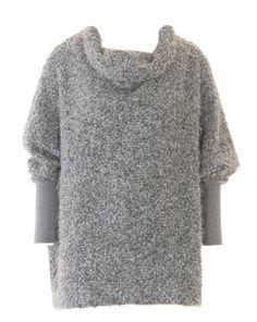 burda style, Schnittmuster, Oversize-Pullover 12/2016 #121B, Cool strukturiert in Bouclé – Dieser Pulli ist kuschelig und weit.