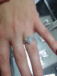 My beautiful Neil Lane pear shaped engagement ring ...