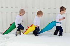 Cómo hacer una cola de dragón para un disfraz - Disfraces caseros y tiendas de disfraces para niños - Especiales - Charhadas.com