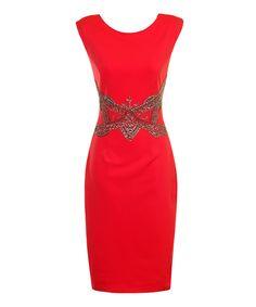 Look at this #zulilyfind! London Dress Company Watermelon Stella Dress - Women by London Dress Company #zulilyfinds