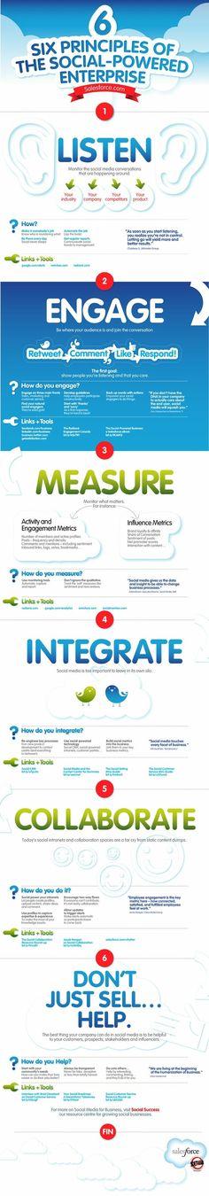 6 social media tips #infographic #megacam