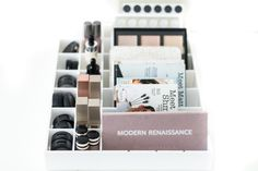 Makeup storage, drawer organiser suits Ikea Alex drawer