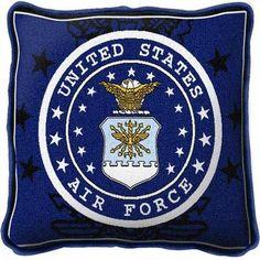 Air Force Patriotic Pillow 17 x 17