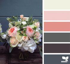 { bouquet hues } image via: @fairynuffflower