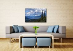 Nature Photography on CANVAS Whistler British Columbia Canada Mountain Landscape Photo Ready to Hang Large Wall Art Print Green Blue Wall Decor 8x10 8x12 11x14 12x18 16x20 16x24 20x30. The mountains and forests around Whistler, BC show their majesty and quiet beauty even cloaked in clouds. Breathe easier with this expansive wall art in your home or office. Order the version with Erol Ozan's quote to help inspire you on your journey through life. Title: Muted Echo This canvas will be...