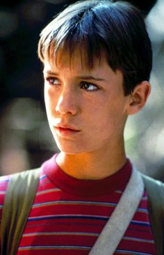 Wil Wheaton as Gordie Lachance in Stand By Me, 1986 Child Actors, Young Actors, Stand By Me Gordie, Gordie Lachance, Wesley Crusher, 1980s Films, 1990s, Wil Wheaton, Young Cute Boys