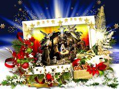 Рождественской звезды свет благодатный Свое сияние на землю обронил.