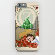 Dorothy and OZ ( art nouveau style ) iPhone & iPod Case