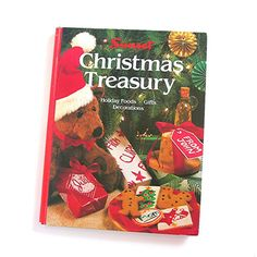 Christmas Treasury Book by Sunset  Vintage by AtticDustAntiques