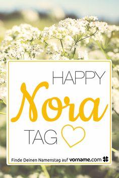 Du heißt Nora oder kennst jemanden, der so heißt? Hier findest Du alle Informationen rund um diesen schönen Vornamen und erfährst den Namenstag dieser Person!