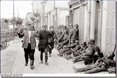 Hitler's orders were that all Soviet political officers (Commissars) were to be executed after capture.