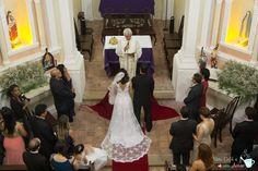 Parte 2 - Igreja (Fotos Oficiais do Casamento) | por blogumcafeeumamor