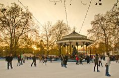 Winter Wonderland at Hyde Park never fails to delight! (Christmas 2012).