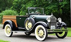 1929 Ford Model A Roadster Pickup. Photo, vehicle, transportation, oldsmobile, cool wheels, history.