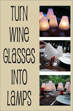 If you already have wine glasses then you're half way there!