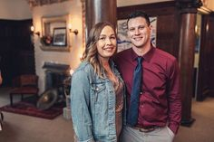 #fridayintroductions I shutter at photos of myself... but this is me and my beau Brent at @detroitgetsmarried . Hes the master behind all of my carpentry projects heavy lifting and last minute must-haves. I couldnt do any of this without him. When Im away making wedding moves hes wrestling our crazy toddler. Basically my Friday intro is not about me at all but hes a pretty important piece of making this big dream a reality. Thanks for reading. K byyyeee.  @thederek23  PS. Im wearing an…