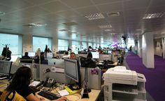 Otra vista de las oficinas de Yahoo! España